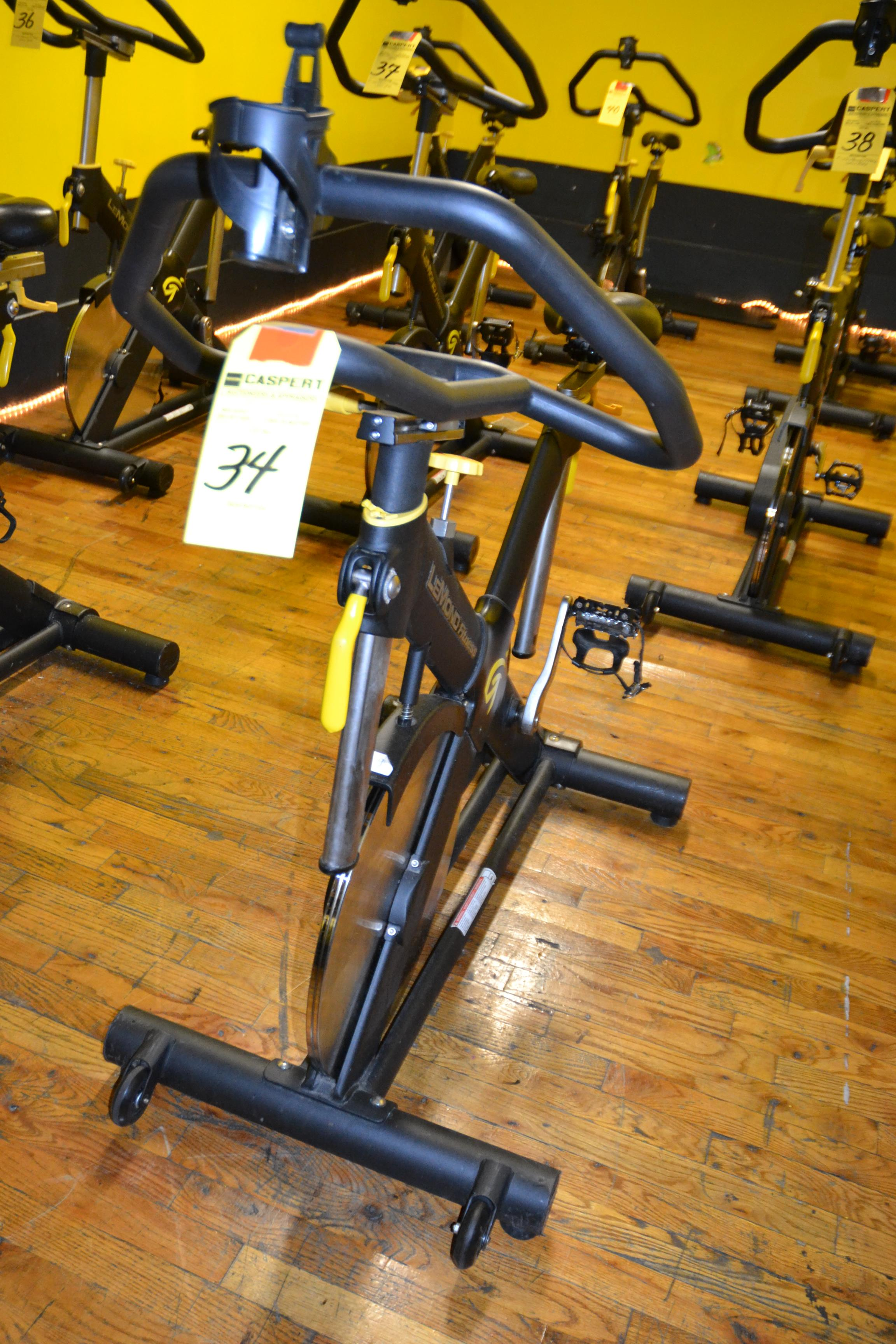 Lot 34 - LEMOND FITNESS 15300-7 SPIN BIKE
