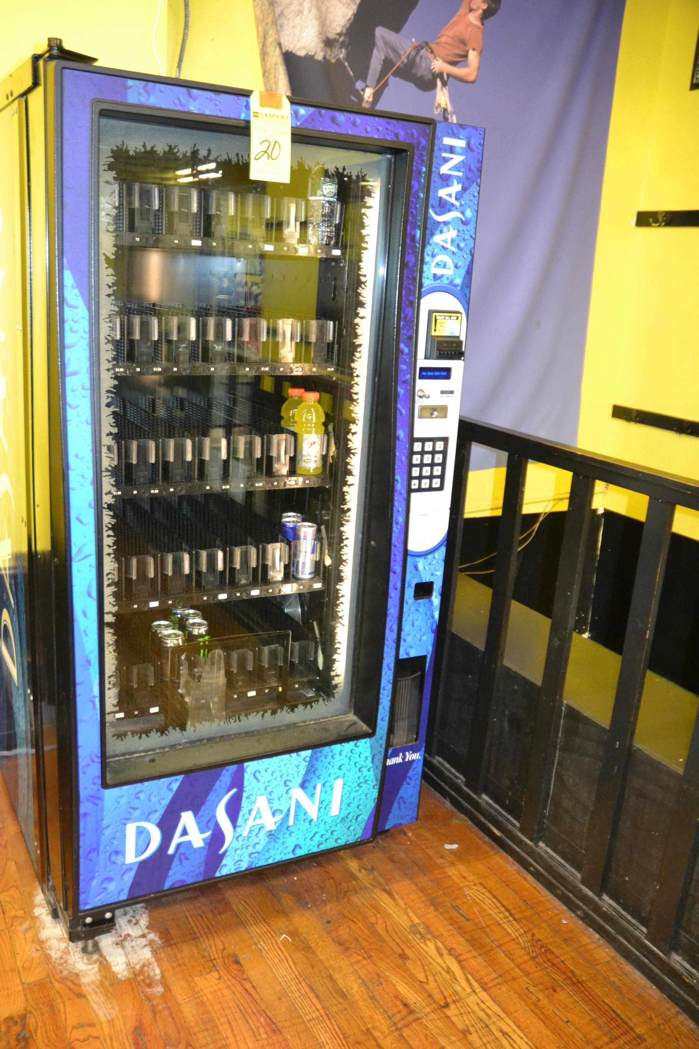 Lot 20 - DASANI VENDING MACHINE