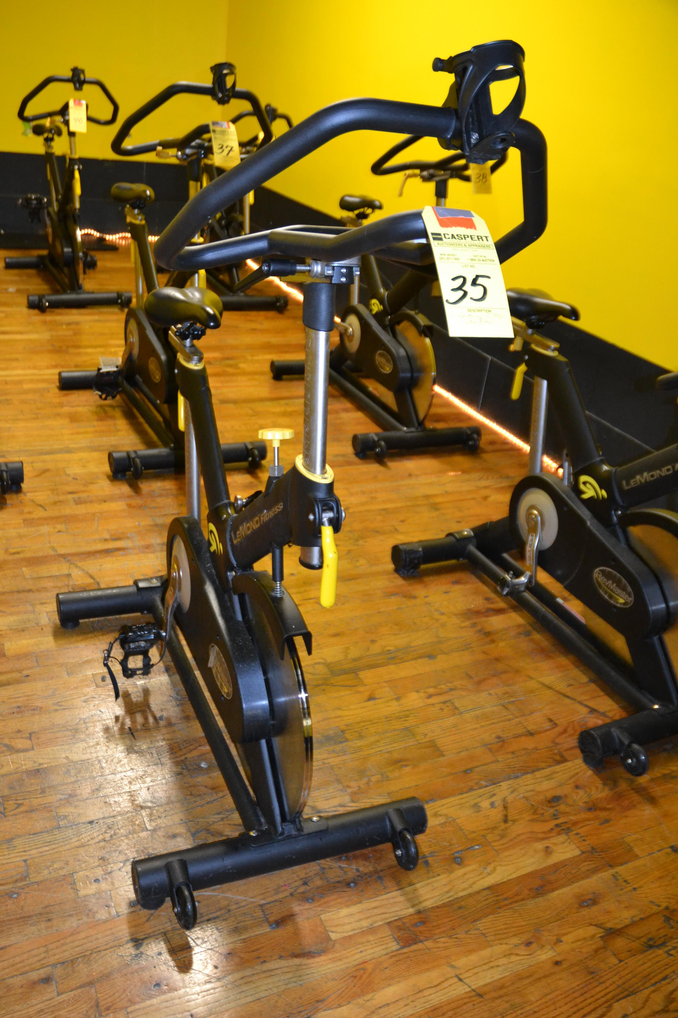 Lot 35 - LEMOND FITNESS 15300-7 SPIN BIKE
