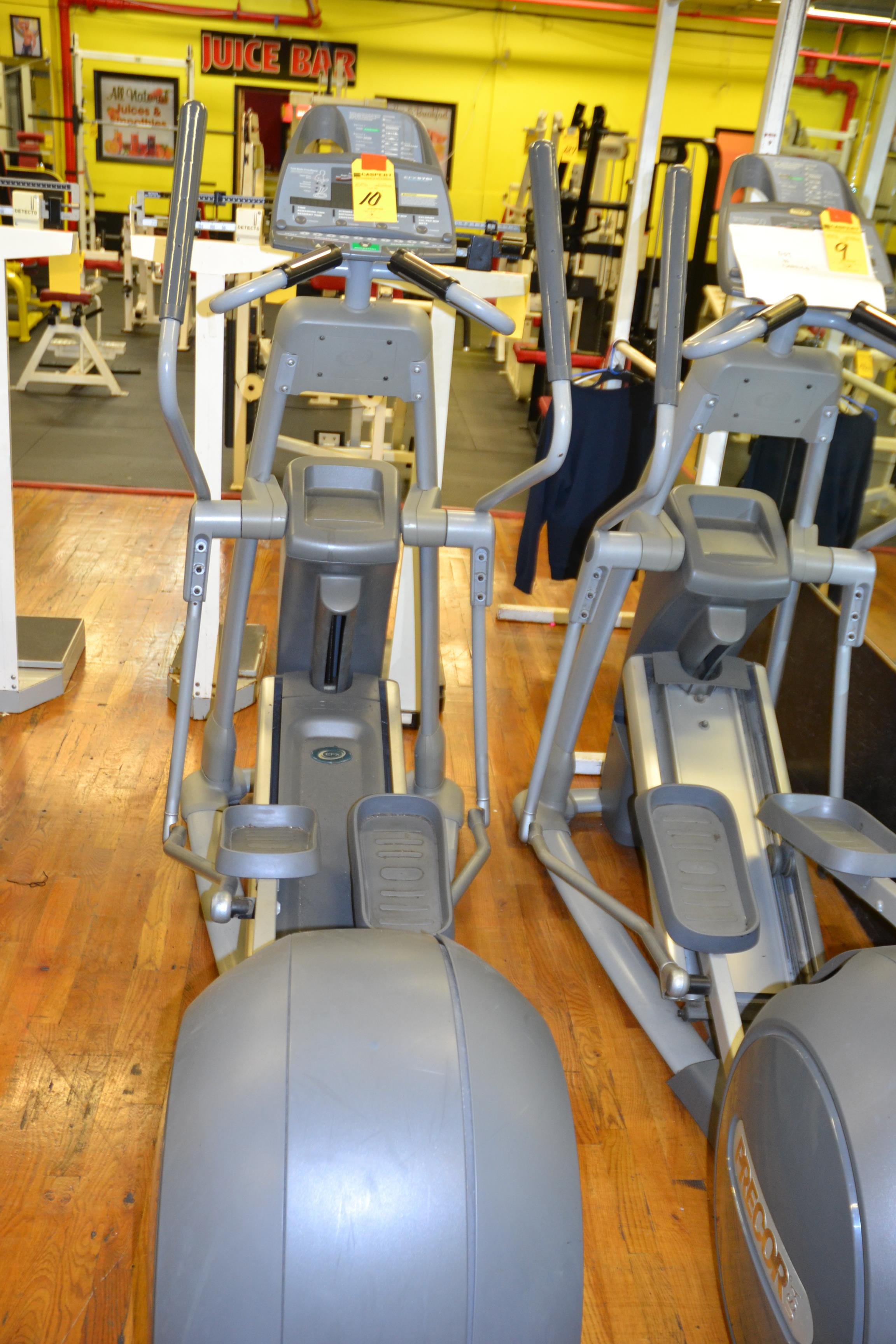 Lot 10 - PRECOR EFX557I ELLIPTICAL