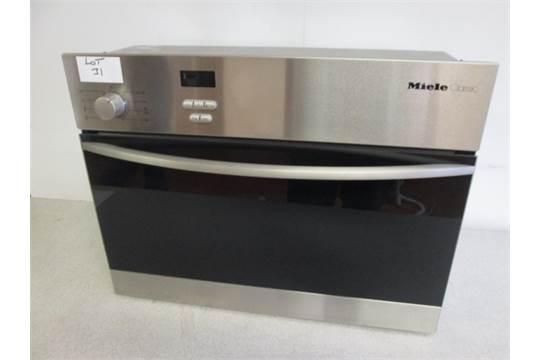 Verwonderlijk Miele Classic Steam Oven, Type DG163 (As New/Ex Display) YF-93