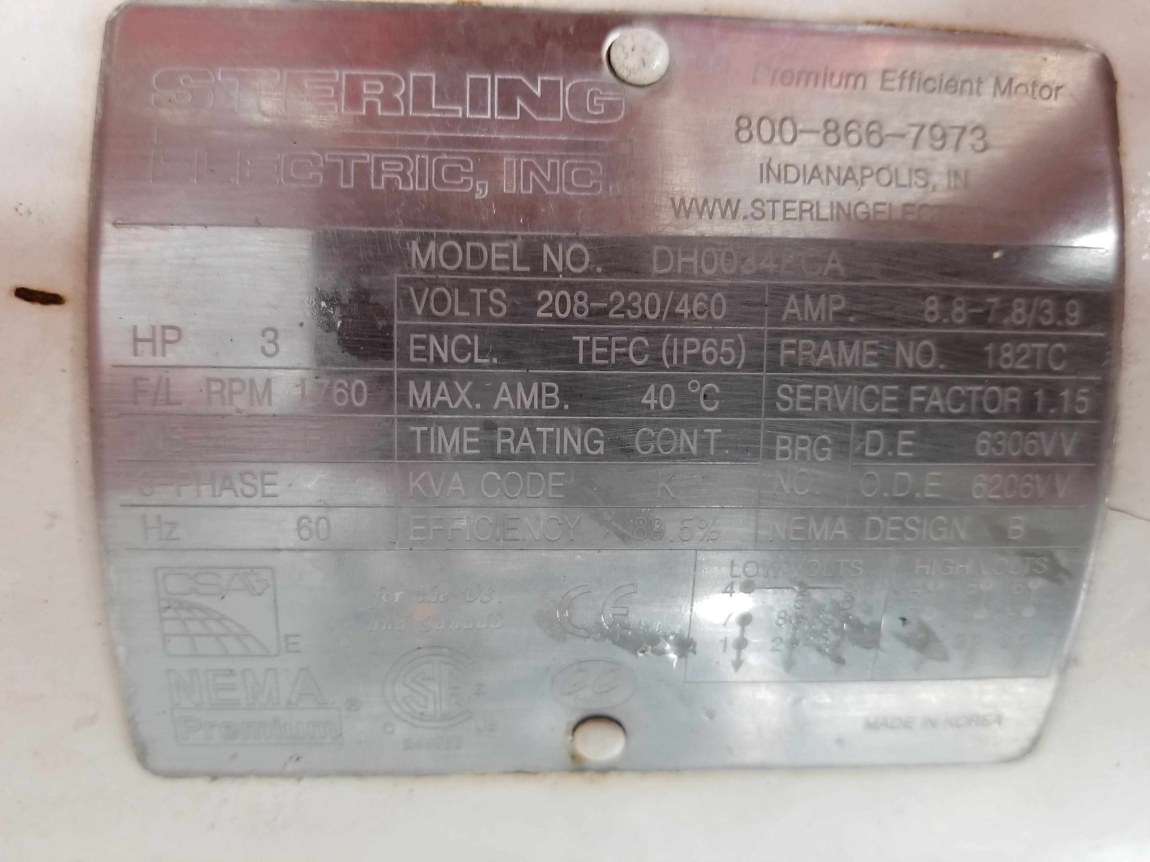 2015 Alfa Laval Positive Displacement Pump - Image 6 of 6
