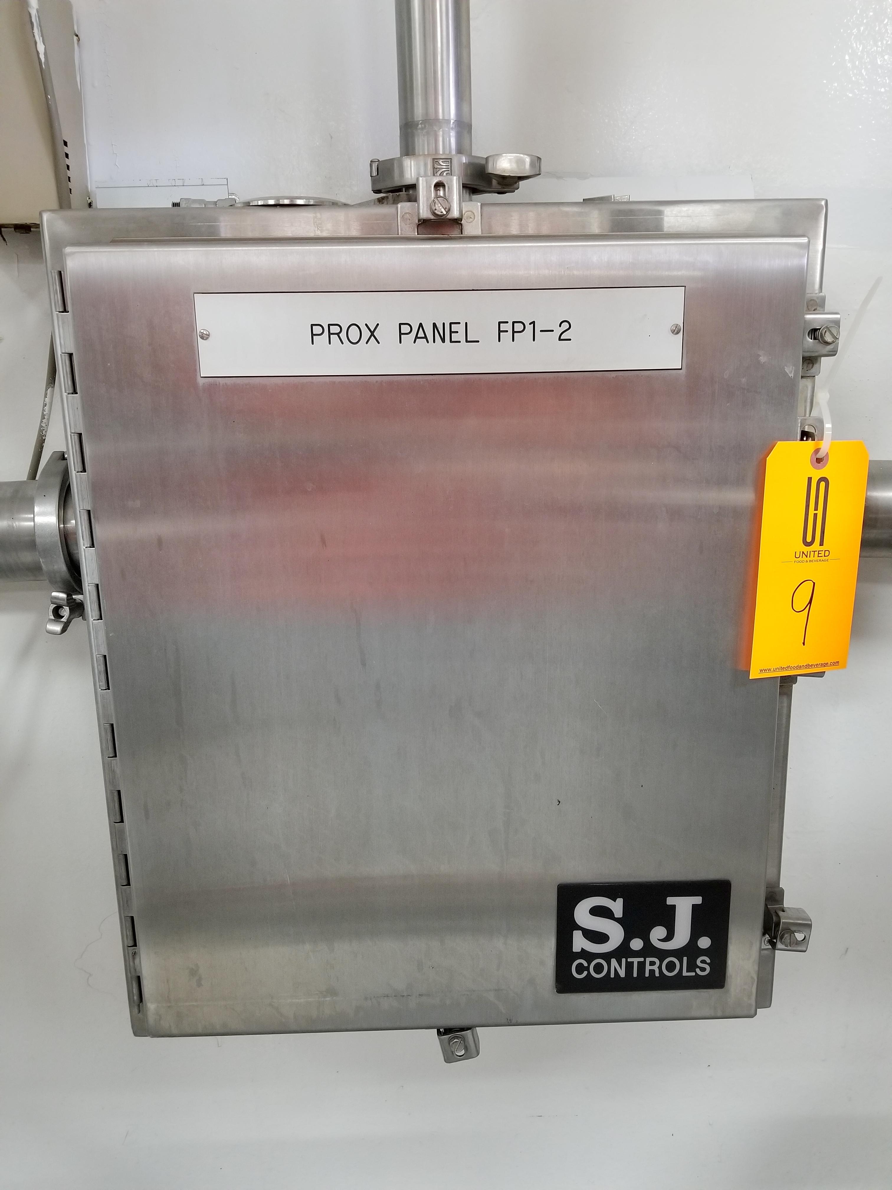 SJ Controls Stainless Steel Panel