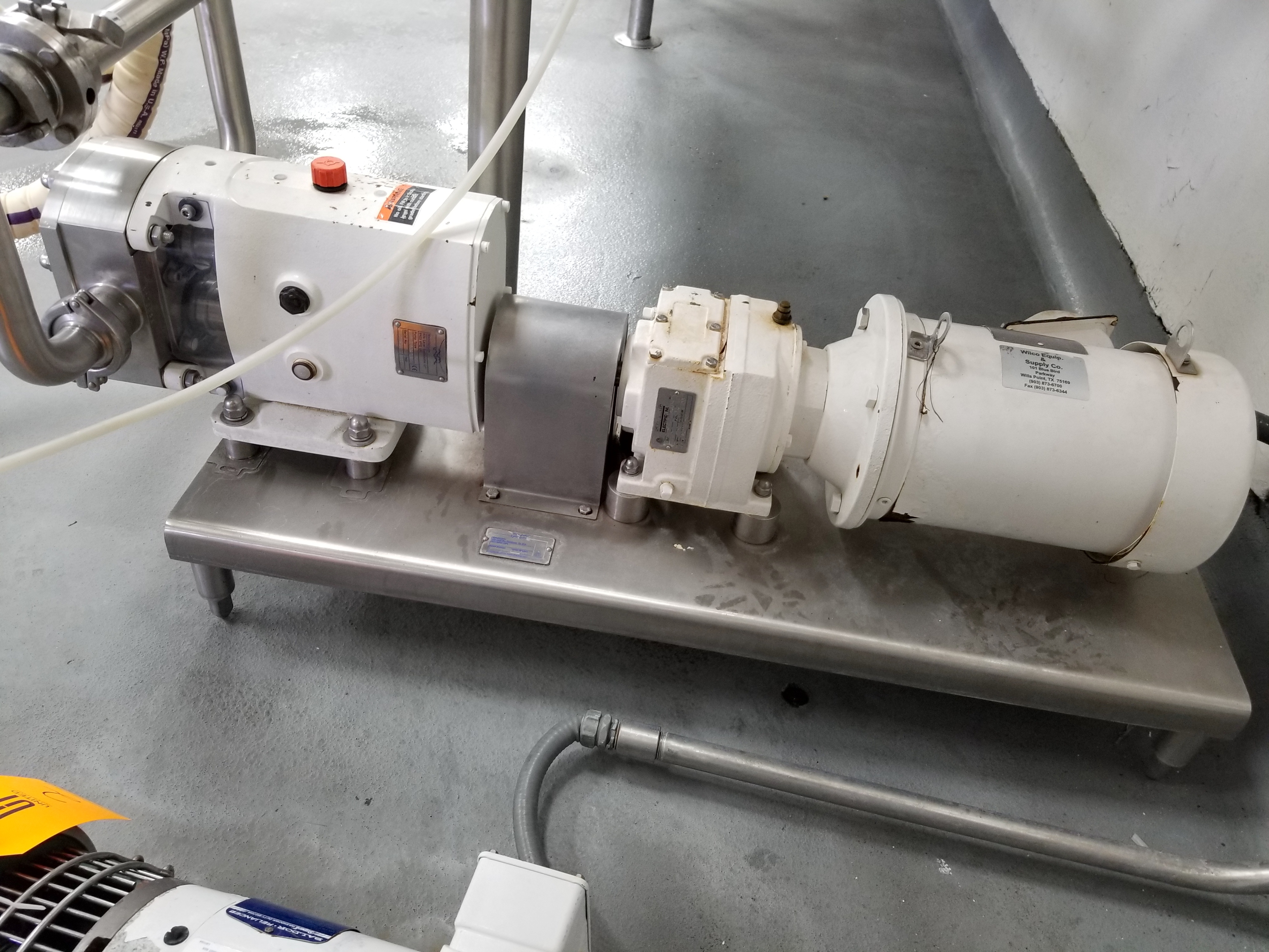 2015 Alfa Laval Positive Displacement Pump - Image 2 of 6