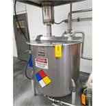 Perm-San 170 Gallon High Shear Vertical Batch Mixing Tank