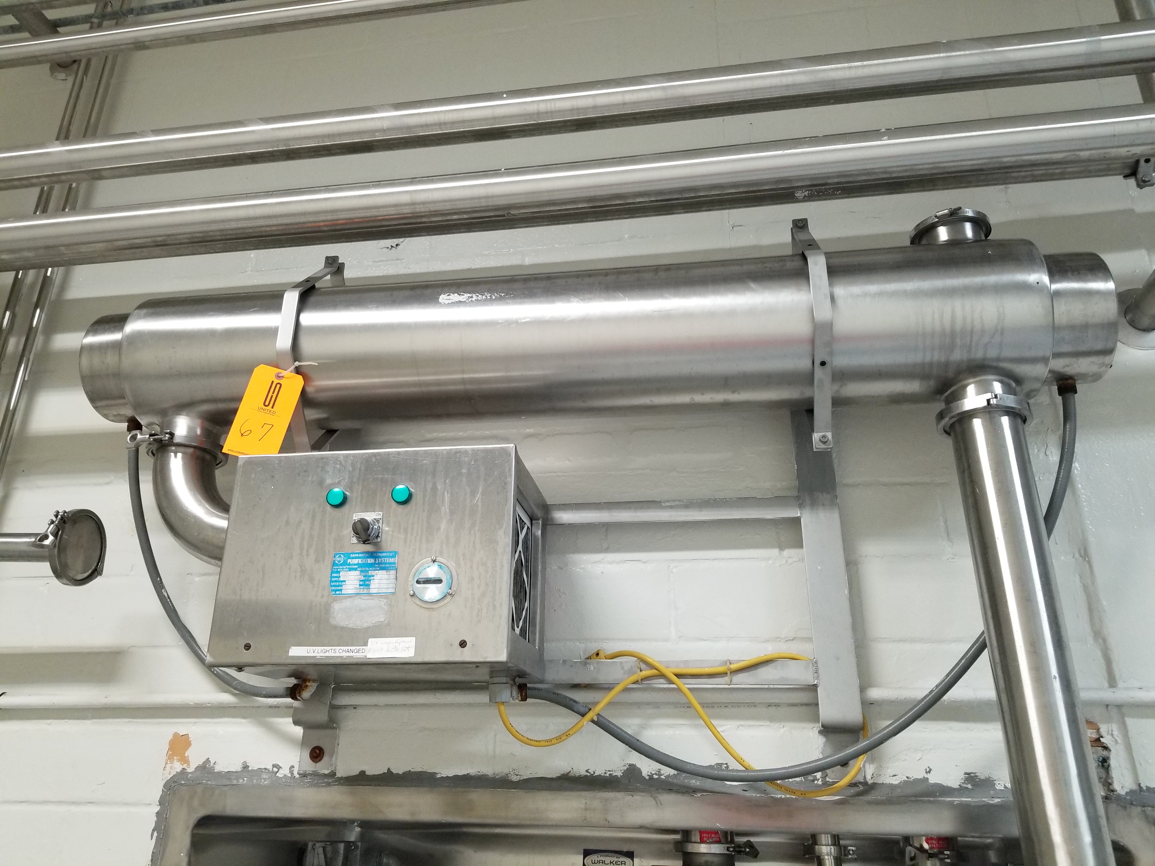 Sani-matic Ultraviolet Purification System