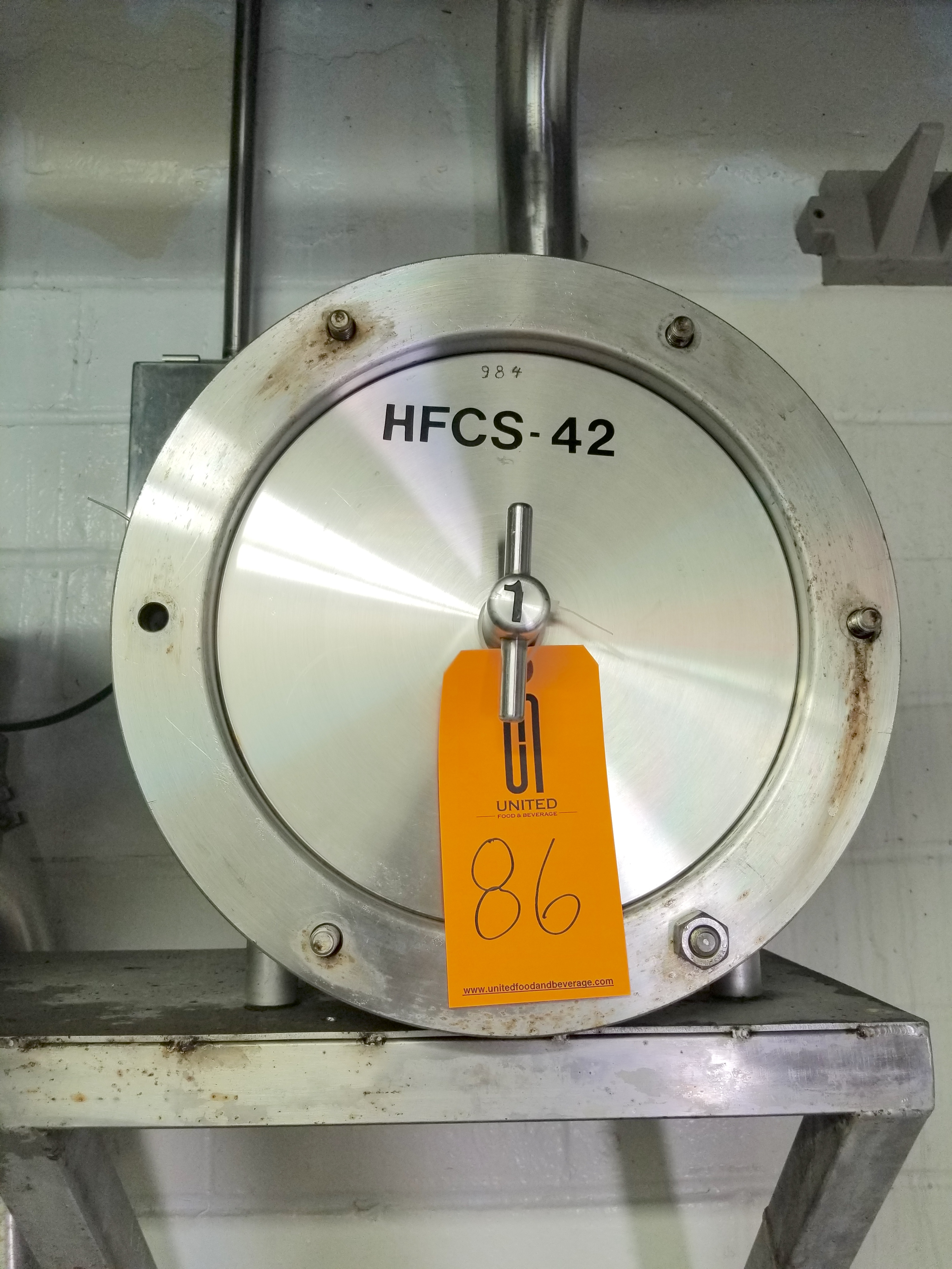 HCFS-42 Corn Syrup Flow Meter 3 Inch Connections