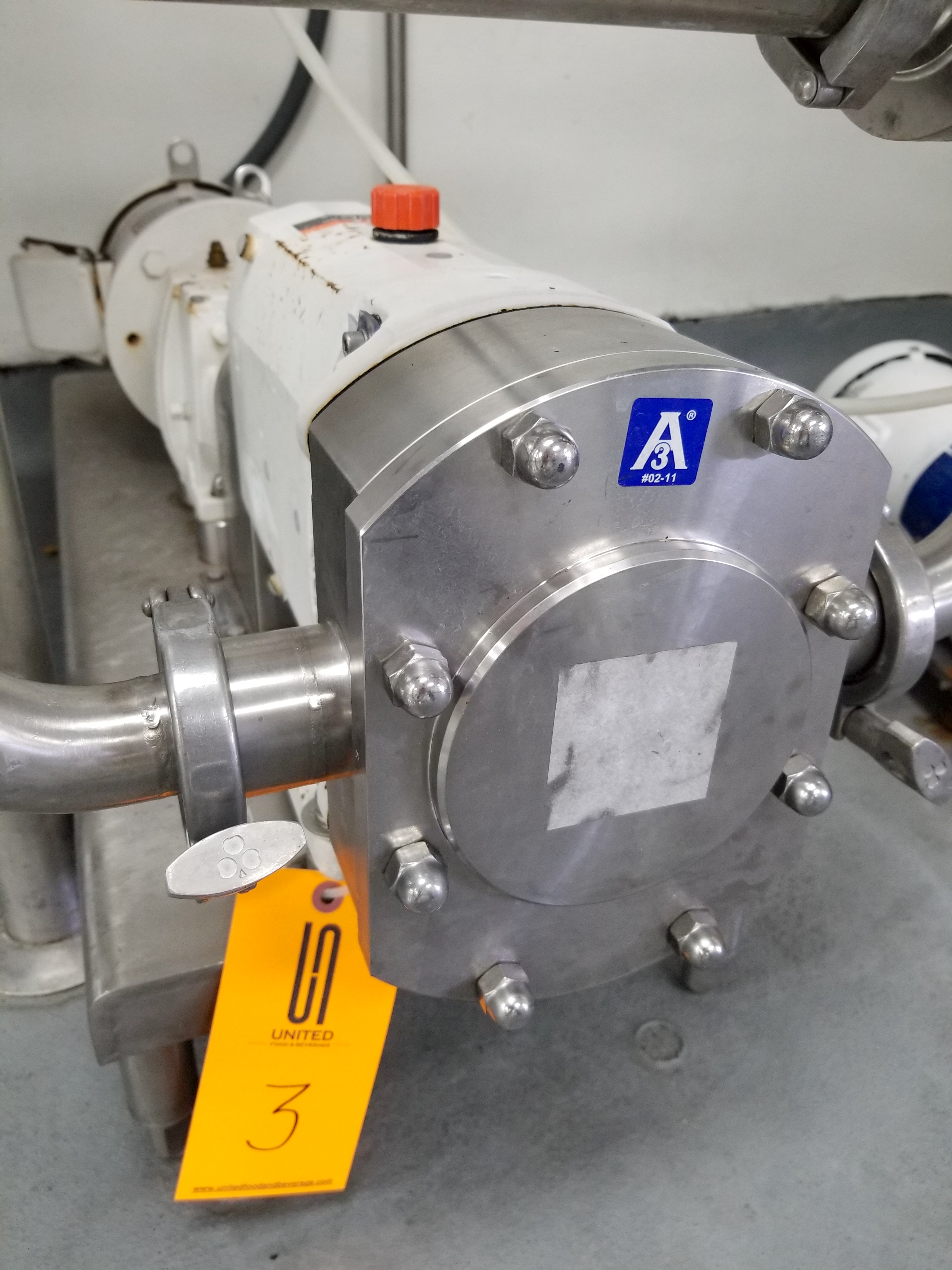 2015 Alfa Laval Positive Displacement Pump - Image 3 of 6