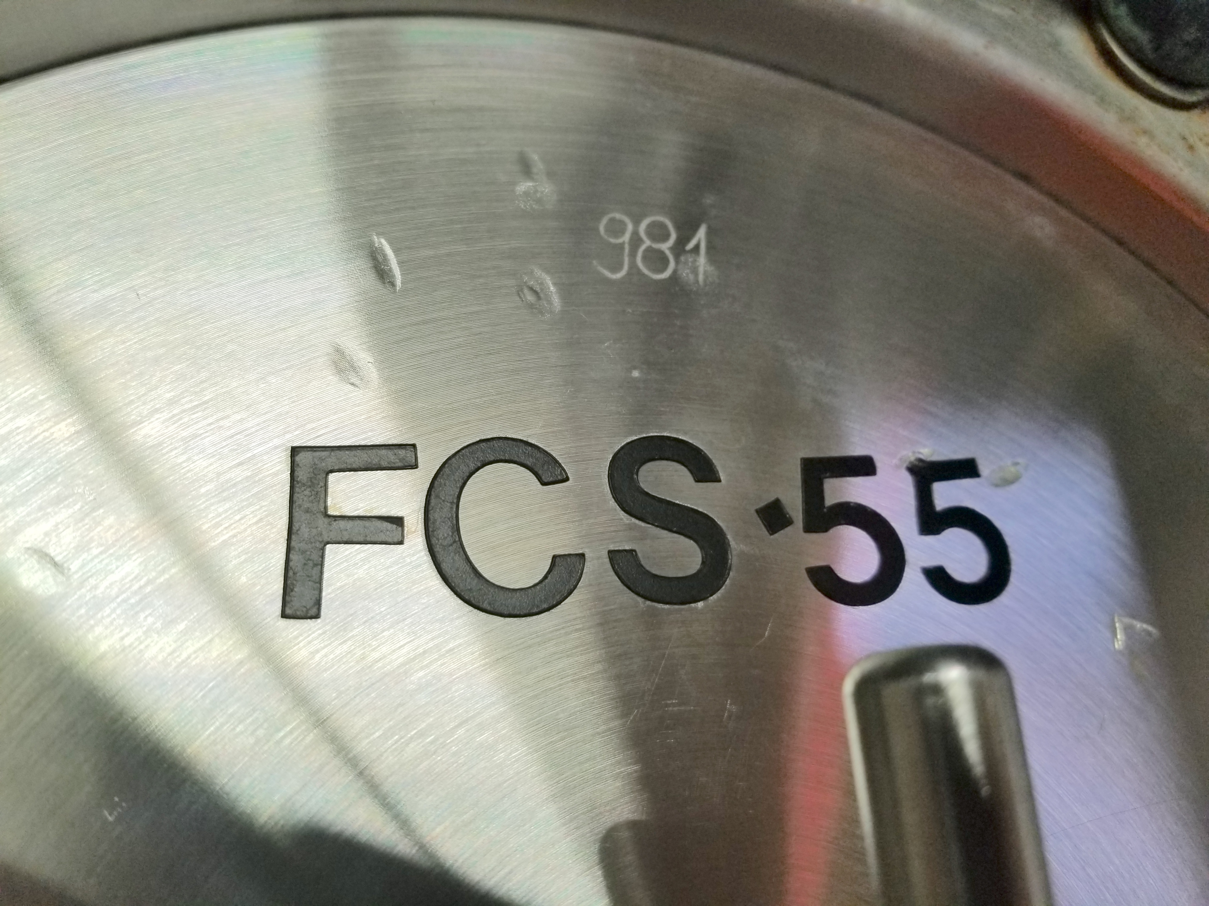 HCFS-55 Corn Syrup Flow Meter 3 Inch Connections - Image 2 of 3