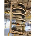 AmbaFlex Incline Spiral Case Conveyor