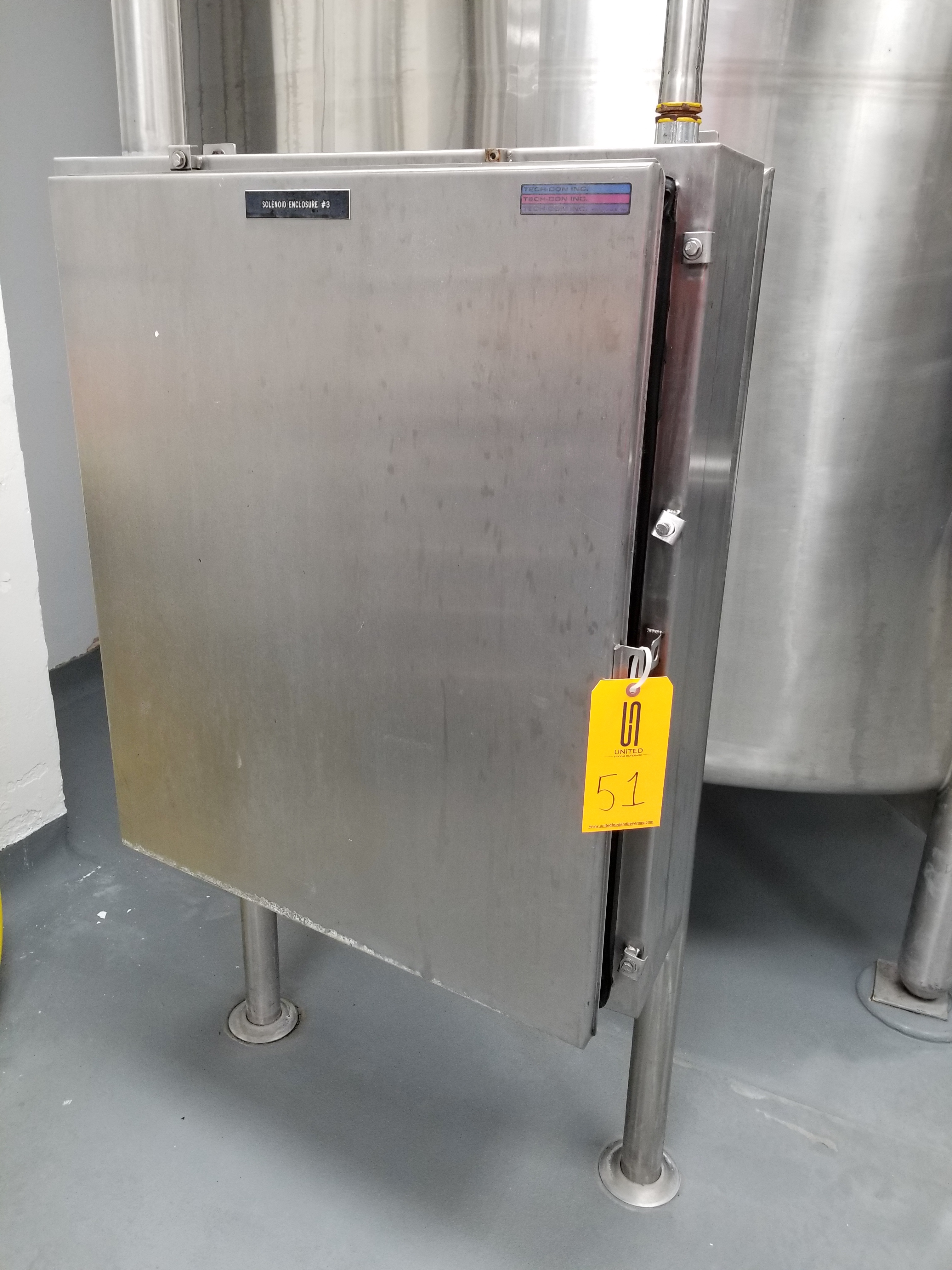 Stainless Steel Panel with Solenoids