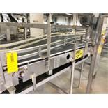 Full Bottle Conveyor from Filler to Warmer