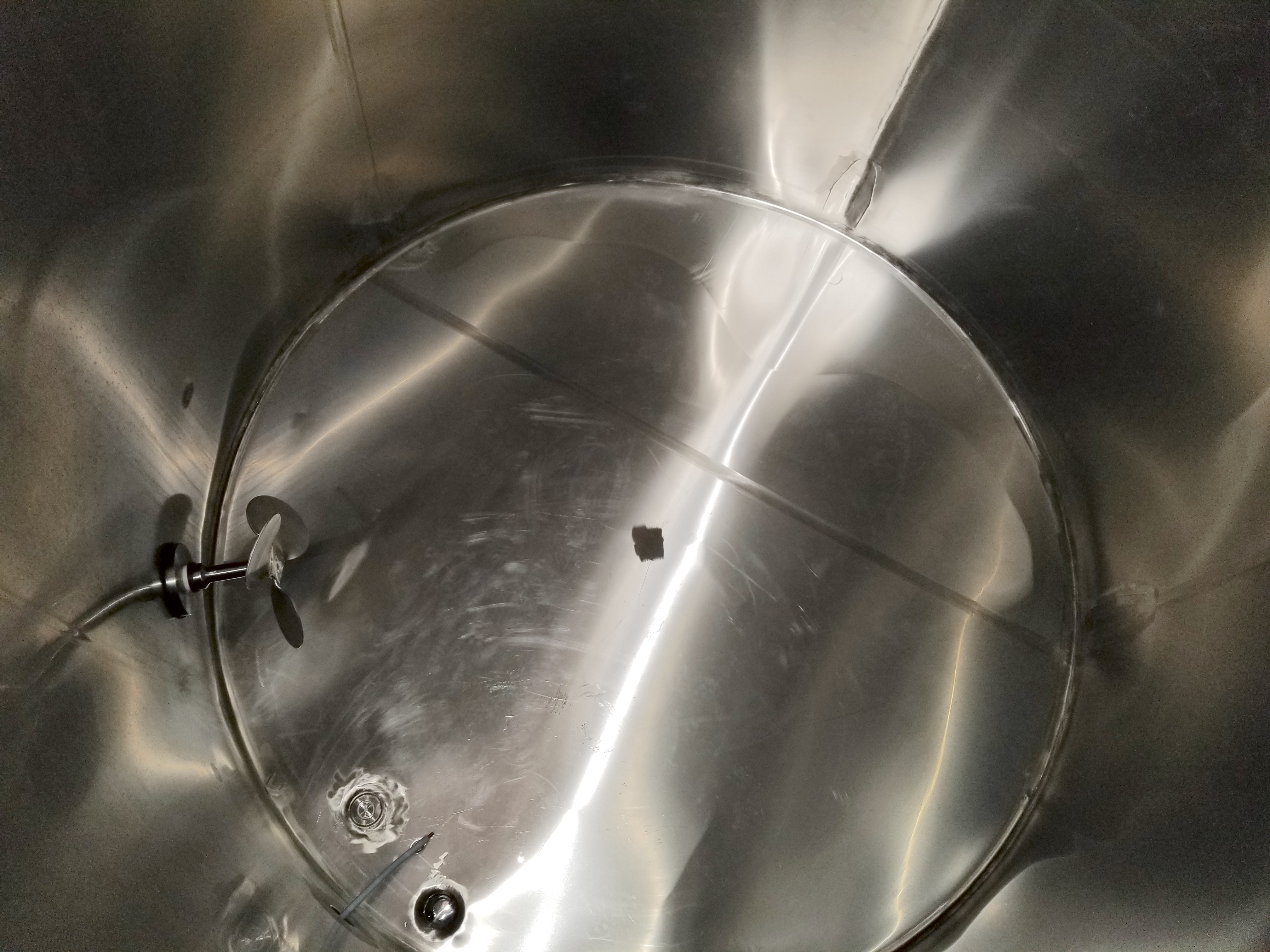 Chem Tank 2,000 Gallon Vertical Mixing Tank - Image 6 of 6