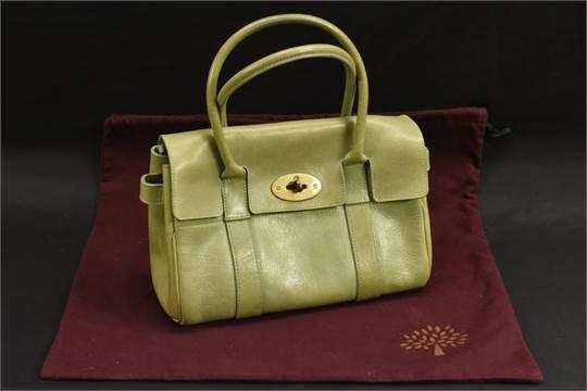 1564dab8f4 Handbags - a Mulberry Ledbury bag, olive colour Darwin leather ...