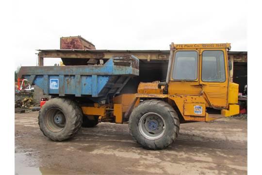 Hydrema 10 Ton Rough Terrain 4x4 Dumper, Perkins engine