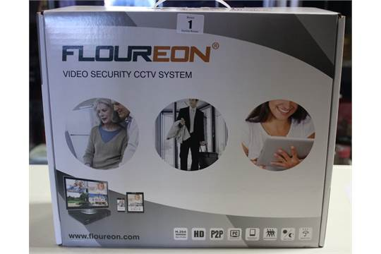 A Floureon video security CCTV system, model No: KA6108lH4N