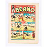 Beano No 9 (1938). Bright, fresh covers, cream pages. Only a handful of copies known to exist [vfn]