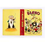 Beano Book (1942). Big Eggo in a spin! Bright boards and spine, with some red edge touch-in,