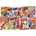 Fawcett/L. Miller (1950s) Bulletman 10 [gd], Captain Marvel Jr 4, 5, George Pal's Puppetoons 1,