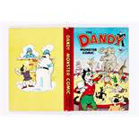 Dandy Monster Comic (1951) Ringmaster Korky. Bright boards and spine, half-inch back cover and top