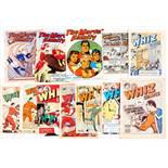 Marvel Family/Whiz (late 1940s, including scarce L. Miller pilot issues). Marvel Family 7, 8 [gd],