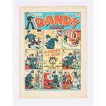 Dandy No 17 (1938). Bright, fresh covers, cream pages [fn+]