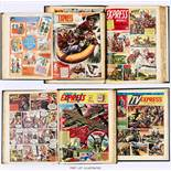 Express Weekly/T.V. Express (1956-1961) 74 (No 1) - 376. Complete 303 issue run in seven bound