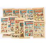 Dandy & Beano lower grade mostly Specials Numbers (1943-55). Dandy 231 (New Year 1943) [fr-gd],