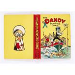 Dandy Monster Comic (1942). Desperate Dan powers the Dandy boat! Bright fresh boards and spine