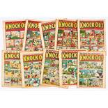 Knock-Out (1939) 15-17, 22, 23, 26, 27, 30, 32, 33. All trimmed (retrieved from bound volume) with