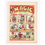 Magic Comic No 65 (1940). Koko, The Tickler Twins. With Peter Piper and Gulliver by Dudley