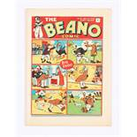 Beano No 16 (1938). Bright, fresh covers, cream pages. Only a few copies known to exist [vfn]