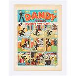 Dandy No 18 (1938) First April Fool number. Bright, fresh covers, cream pages. Narrow half-inch
