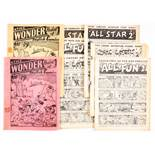 The Wonder Packet of English Comics (1939) A. Soloway. Containing All Fun 2, 4 (x2), All Star 2,