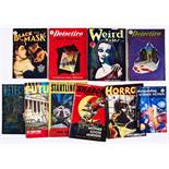 UK Pulps (1940s-50s). Weird Tales n.n. (1950), Black Mask Vol. 5, No 12, Detective Story Magazine