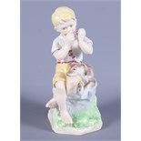 """A Royal Worcester porcelain model, """"June"""", by F G Doughty, 6"""" high"""