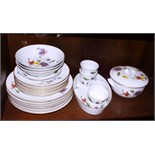 """A Royal Worcester """"Astley"""" part dinner service, a quantity of various decorative china, including"""