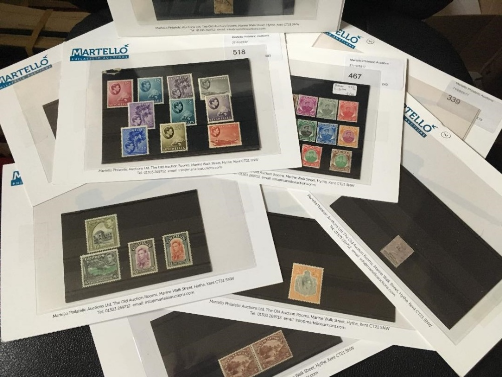 Lot 5 - STAMPS : Batch of Commonwealth stamps previously individually offered in our auction,