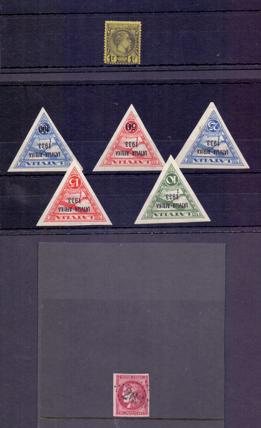 Lot 3 - WORLD STAMPS : Batch of Foreign stamps previously individually offered in our auction,