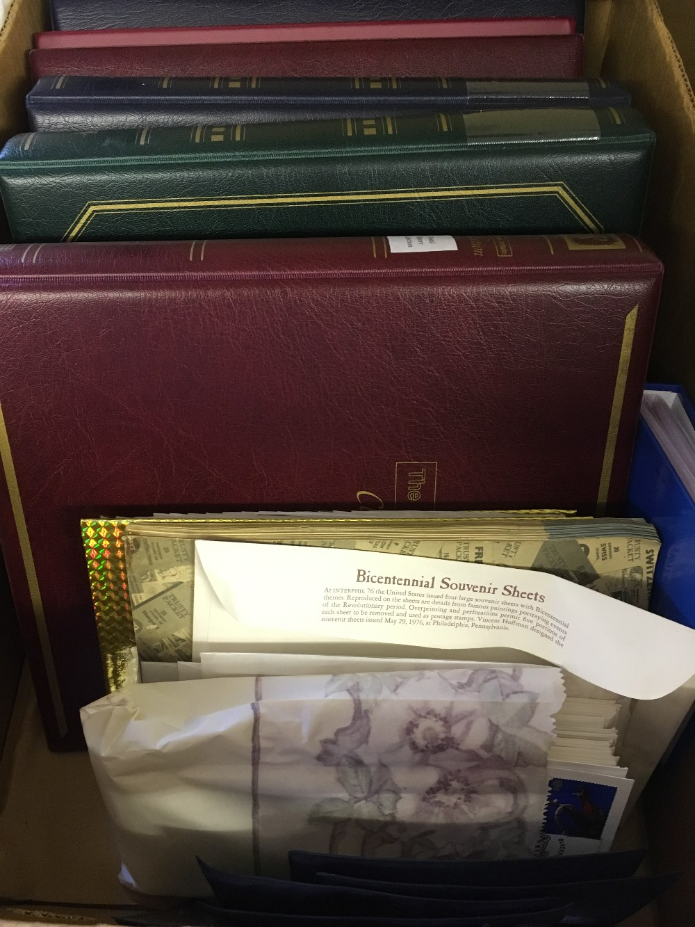 Lot 28 - STAMPS : Glory box of stamps and covers mainly Great Britain but also noted an album of USA,