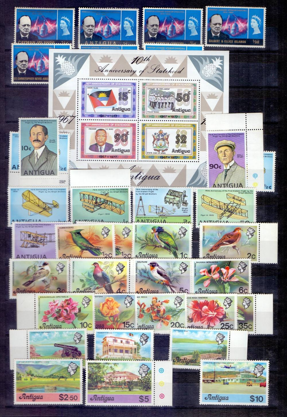 Lot 38 - STAMPS : South Atlantic issues etc.