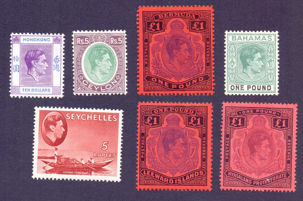 Lot 11 - STAMPS : BRITISH COMMONWEALTH, mint George VI collection in stockbook with many useful sets,