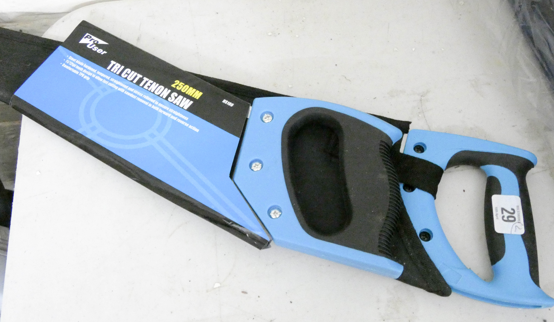 Lot 29 - A new Staysharp hand saw and tricut tenon saw