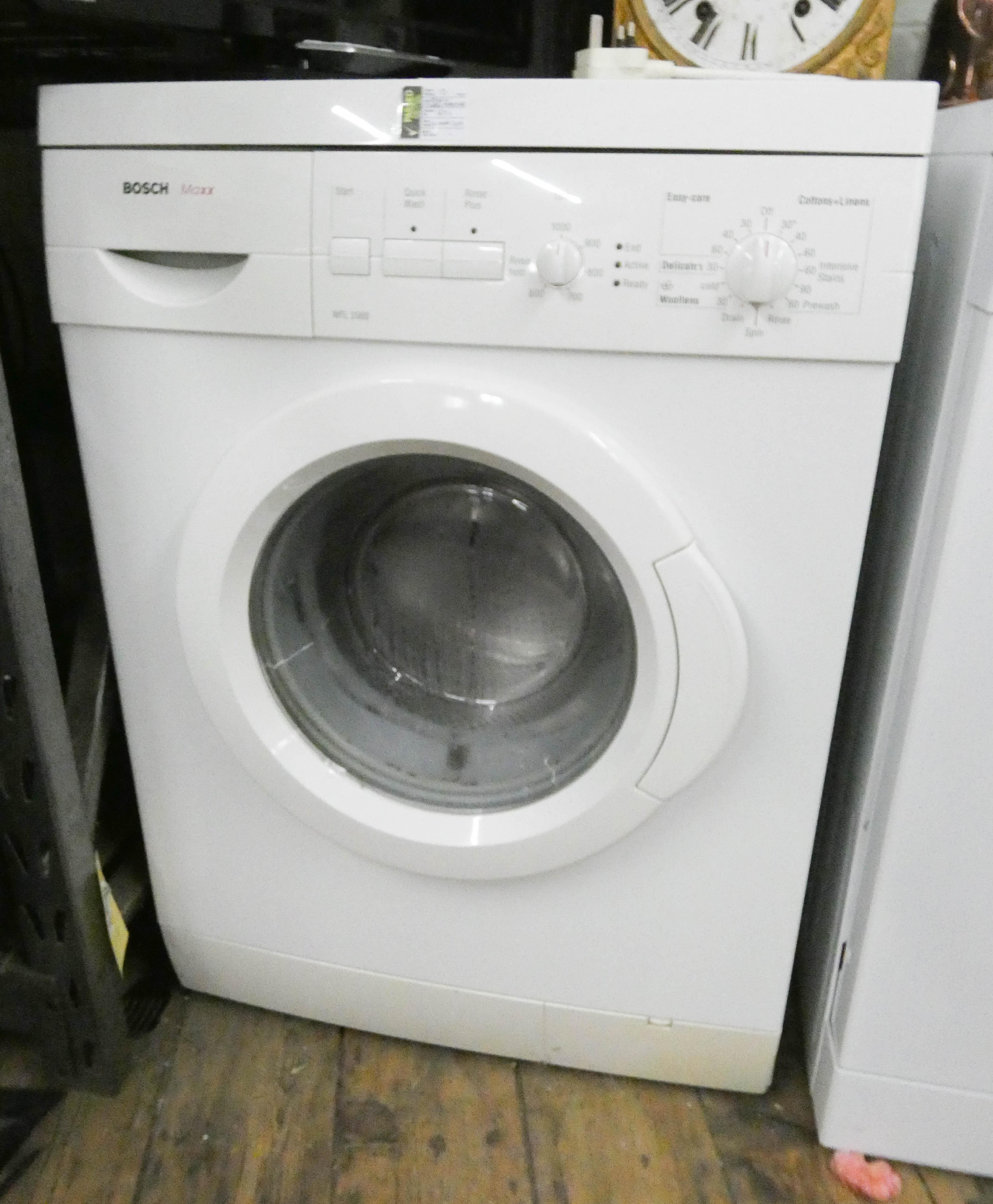 Lot 10 - A Bosch Maxx washing machine