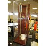 Dejoka brass ship's barometer with Gimbal & display case