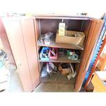 2-DOOR CABINET WITH CONTENTS