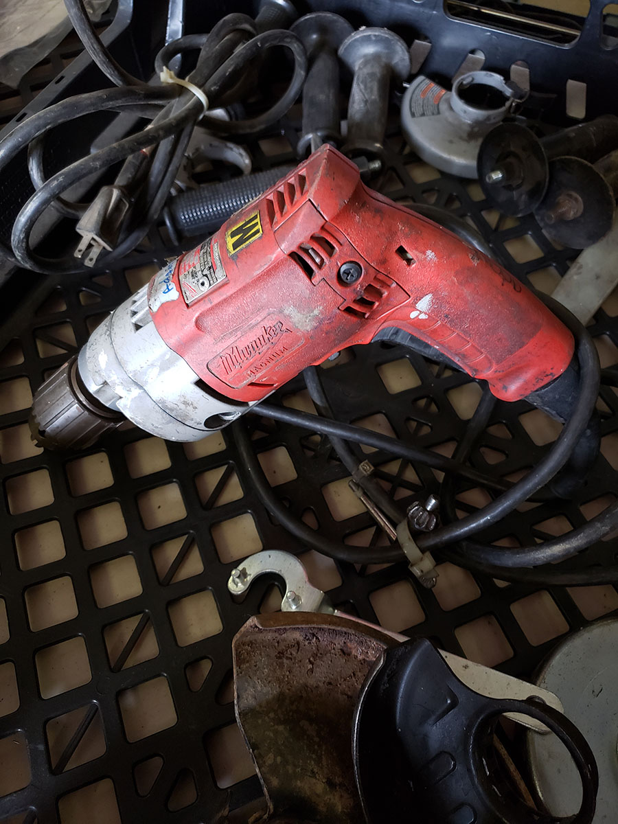 LOT OF ASSORTED MILWAUKEE ELECTRIC TOOLS - Image 5 of 7