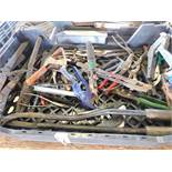 LOT OF ASSORTED PLIERS & CUTTERS
