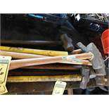 LOT OF ASSORTED SLEDGEHAMMERS