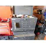 ROLLING US GENERAL TOOLBOX WITH CONTENTS